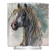 Andalusian Horse 2014 11 11 Shower Curtain