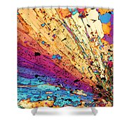 Andalusite Shower Curtain