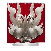 Andean Devil Mask Shower Curtain