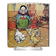 Andersen: Ugly Duckling Shower Curtain