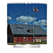 Andersons Dock Door County Wi Shower Curtain