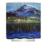 Andes Mountain Shower Curtain