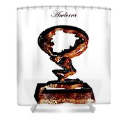 Andorra Statue Shower Curtain