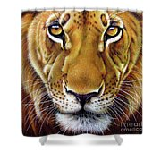 Andre Lion Shower Curtain