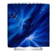 Andreas Nebula Shower Curtain