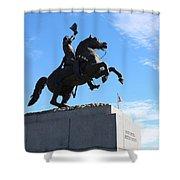 Andrew Jackson Shower Curtain