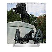 Andrew Jackson Memorial Shower Curtain
