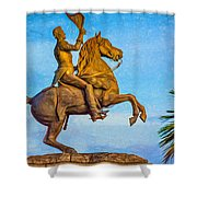 Andrew Jackson - Paint Shower Curtain