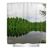 Andrew Lake Shower Curtain