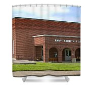 Andy Griffith Playhouse Nc Shower Curtain