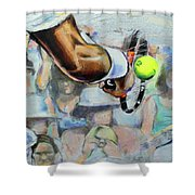 Andy Murray - Wimbledon 2013 Shower Curtain