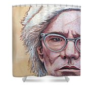 Andy Warhol Shower Curtain