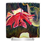 Anemone Me Shower Curtain by Jolanta Anna Karolska