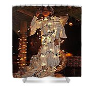 Angel And The Badman Homage 1947 Christmas Parade Coolidge Arizona 2001-2008 Shower Curtain