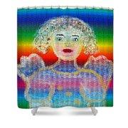 Angel Shower Curtain