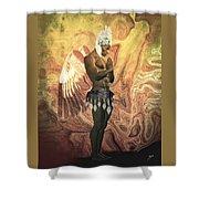 Angel Cabaret Shower Curtain