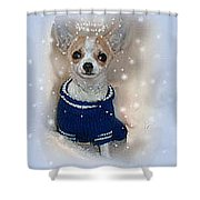 Angel Chachi Shower Curtain