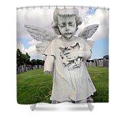 Angel Child Shower Curtain