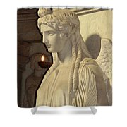 Angel Shower Curtain