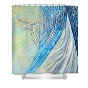Angel Divine Shower Curtain