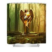 Angel Gabriel Shower Curtain