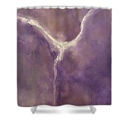 Angel I Shower Curtain