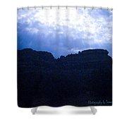 Angel Light Sedona Shower Curtain