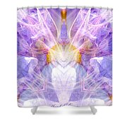 Angel Of Beauty Shower Curtain