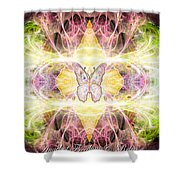 Angel Of Freedom And Release Shower Curtain
