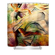 Angel Of Hope Shower Curtain
