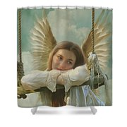 Angel Of Independence Shower Curtain