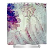 Angel Of Mercy 2 Shower Curtain