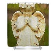 Angel Of Mine Shower Curtain
