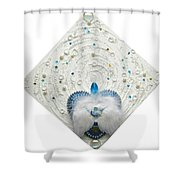 Angel Of Purity And Power Shower Curtain