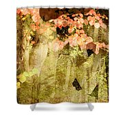 Angel Of The Woods Shower Curtain
