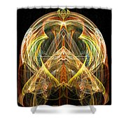 Angel Of Transformation And Change Shower Curtain