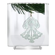 Angel Ornament Shower Curtain