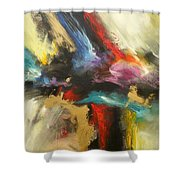 Angel Redemption Shower Curtain