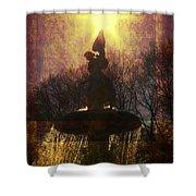 Angel Starburst Shower Curtain