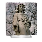 Angel Stare Shower Curtain