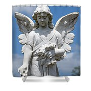 Angel Tombstone Series Shower Curtain