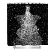 Angel Tree Shower Curtain