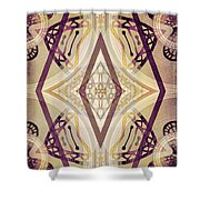 Angel Wings 3 Shower Curtain