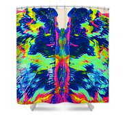 Angel Wings Shower Curtain by Vijay Sharon Govender