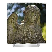 Angel With Broken Arm II Cave Hill Cemetery Louisville Kentucky  Shower Curtain
