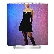 Angelalbdfullbody Shower Curtain