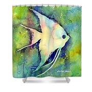 Angelfish I Shower Curtain