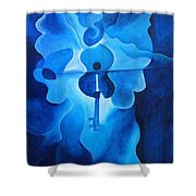 Angelic Concerto Shower Curtain