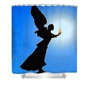 Angelic Shower Curtain