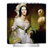 Angelica S Shower Curtain